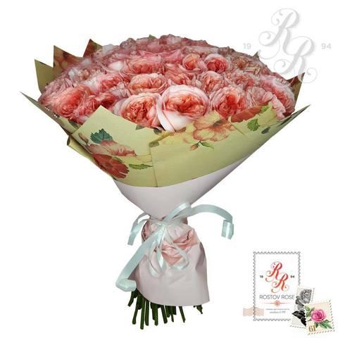 Букет пионовидной розы Лондон Ай