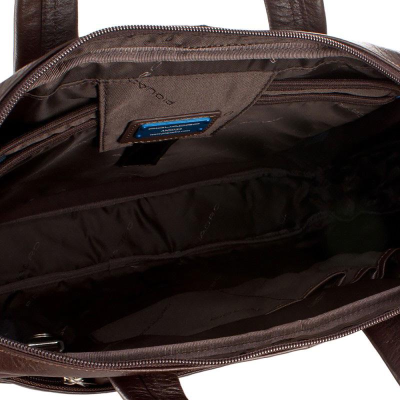 Сумка Piquadro Vibe, цвет коричневый, 39x28,5x6 см (CA1903VI/TM)