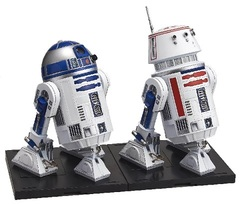 Star Wars 1/12 Scale Model Kit R2-D2 & R5-D4