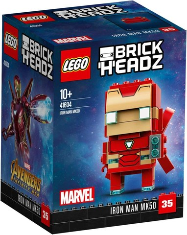 BrickHeadz Железный человек MK50 41604