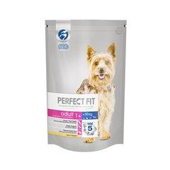 PERFECT FIT полнорационный корм для взрослых собак мелких пород меньше 10 кг с курицей 0,5