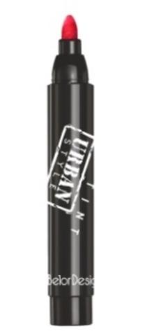 BelorDesign Smart Girl Тинт-фломастер для губ Urban Style тон 34 ализариновый