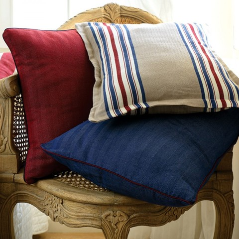 Элитная подушка декоративная Rhode Island коричневая от Casual Avenue