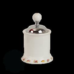 Баночка низкая Migliore Provance ML.PRO-60.527 керамика с декором h10см.