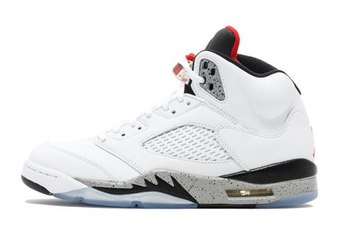 Air Jordan 5 Retro 'White Cement'