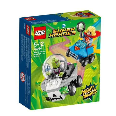 LEGO Super Heroes Mighty Micros: Супергёрл против Брейниака 76094 —  Supergirl vs. Brainiac  — Лего Супергерои ДиСи
