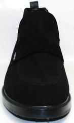 Черные мужские ботинки Richesse R454