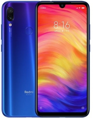 Xiaomi Redmi Note 7 3/32Gb Blue (Global Version)