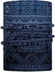 Двойной флисовый шарф-труба Buff Neckwarmer Polar Reversible Eskor Perfuse Blue