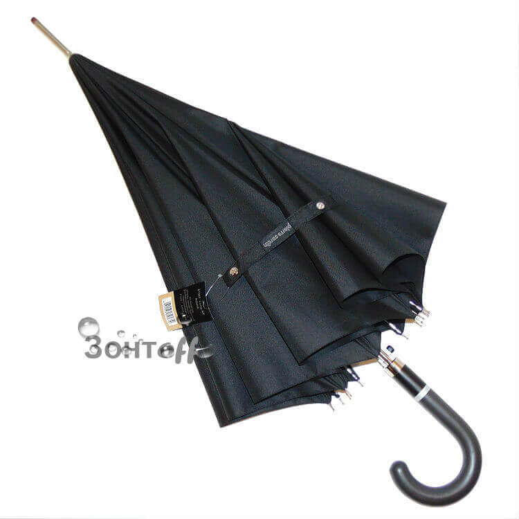 Зонт-трость Pierre Cardin-81367-10 raggi nero