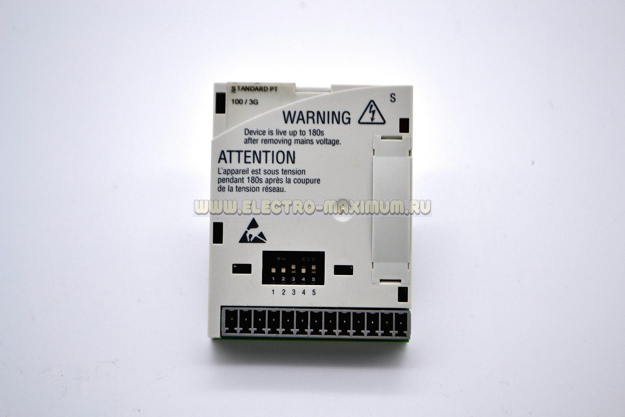Модуль ввода/вывода для частотных преобрвзователей серии 8200 vector/motec. Lenze E82ZAFSC100