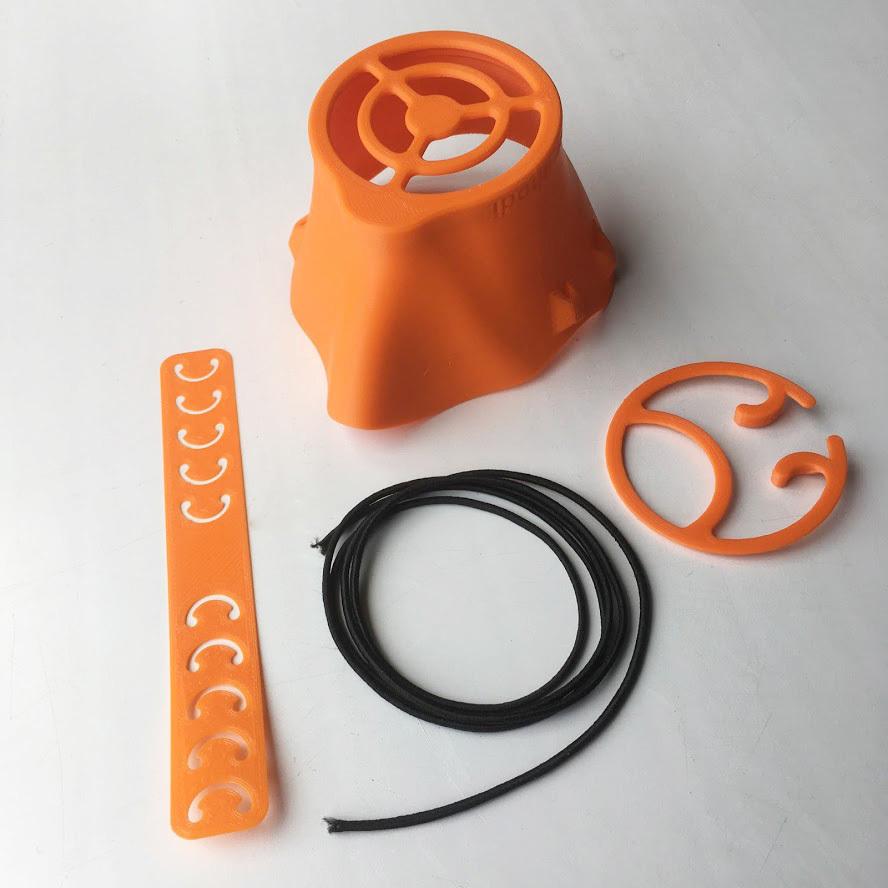 Маска XL многоразовая для защиты органов дыхания (взрослая большая)