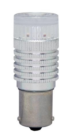 Светодиодная лампа P21W MTF Light 360° (желтый)
