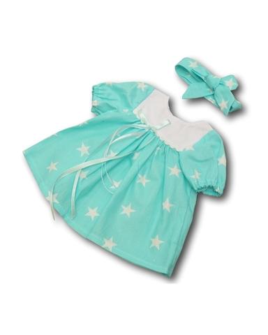 Платье - Мята. Одежда для кукол, пупсов и мягких игрушек.