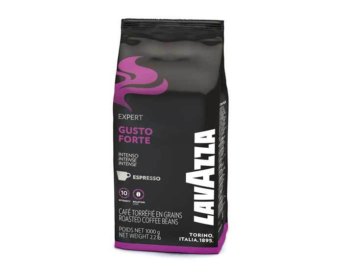 Кофе в зернах LavAzza Gusto Forte, 1 кг (Лавацца)