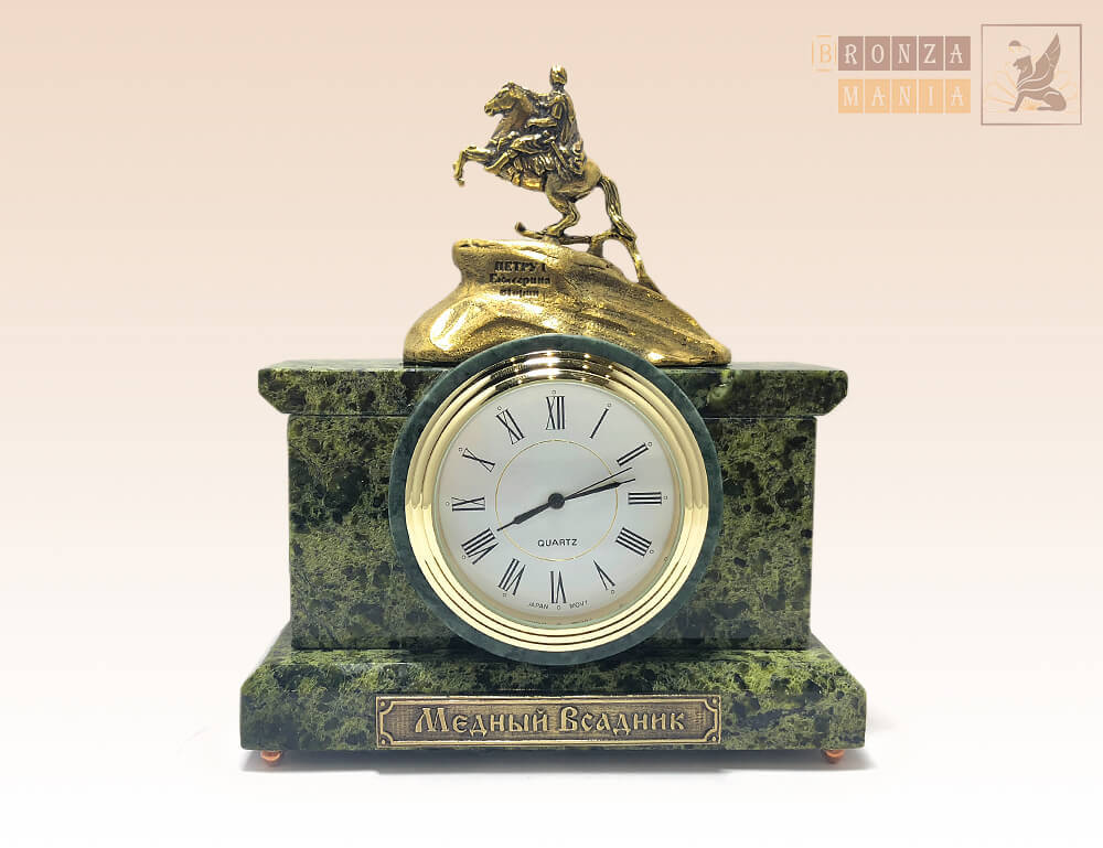 часы Медный Всадник