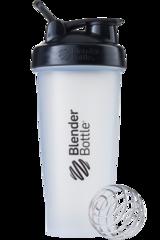 BlenderBottle Classic Шейкер классический с венчиком-пружинкой черный-прозрачный 828 мл