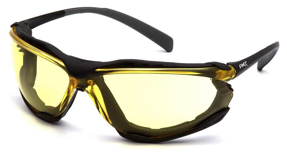 Очки баллистические стрелковые Pyramex Proximity SB9330ST Anti-fog желтые 89%