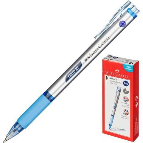 Ручка шариковая Faber-Castell GRIP Х5, синий /547352