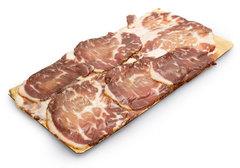 Бекон из мраморной говядины нарезка, 150г