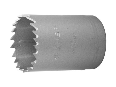 ЗУБР 38мм, коронка биметаллическая, быстрорежущая сталь