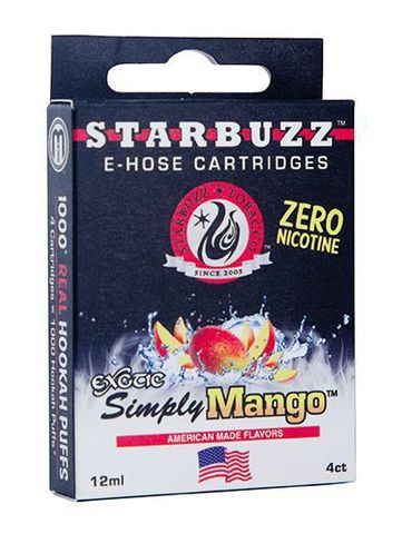 Картриджи Starbuzz - Simply Mango