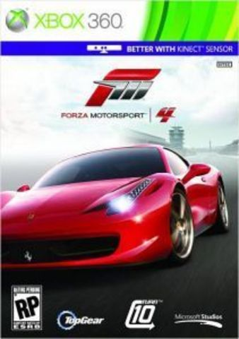 Microsoft Xbox 360 Forza Motorsport 4 (русская версия)