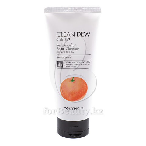 Tony Moly Clean Dew Red Grapefruit Foam Cleanser
