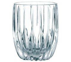 Набор из 4 низких хрустальных стаканов PRESTIGE, 290 мл