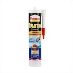 Герметик силиконовый для ванной и кухни МОМЕНТ (Прозрачный)