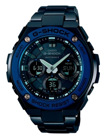 Часы мужские Casio GST-W110BD-1A2 G-Shock G-Steel