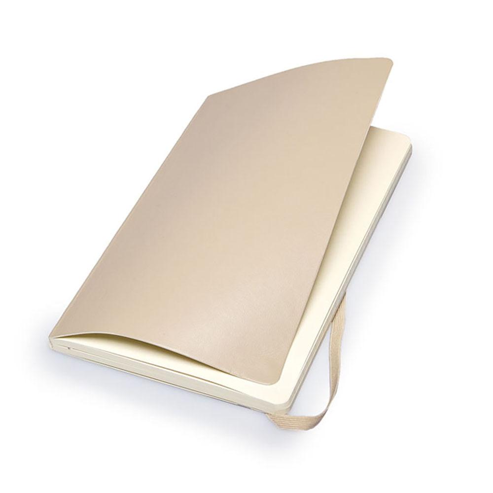 Блокнот Moleskine Classic Soft Large, цвет бежевый, в линейку