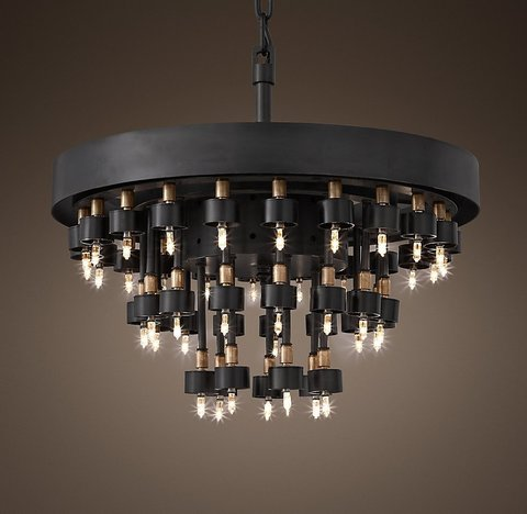 Cosmos 3-Ring Chandelier