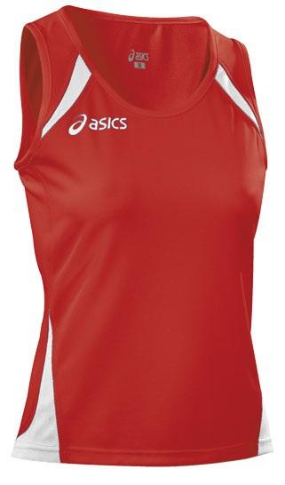 Женская волейбольная майка Aics Singlet Paula Lady (T248Z6 2601) красная