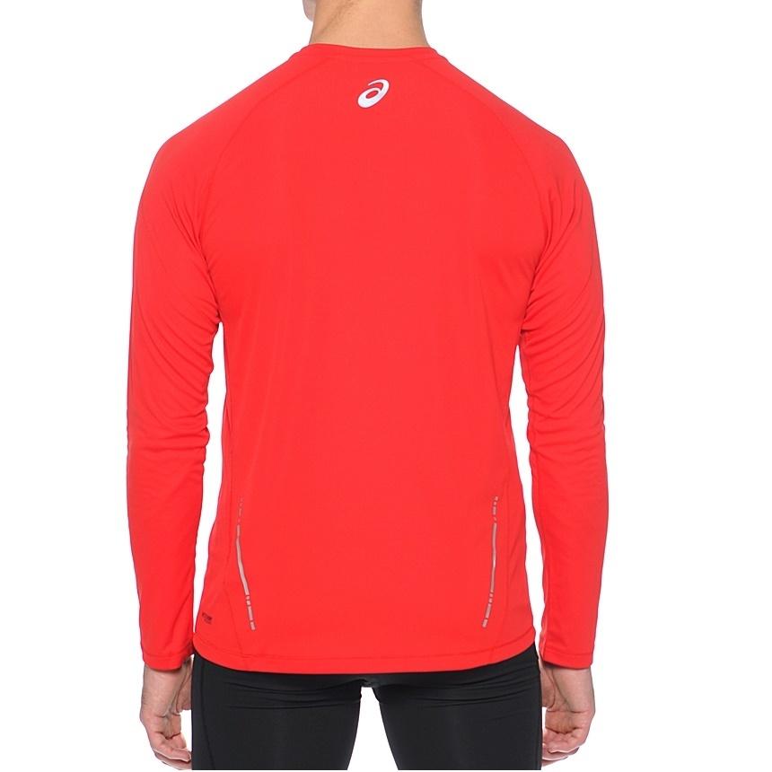 Мужская беговая рубашка Asics LS Crew (114510 6015) фото