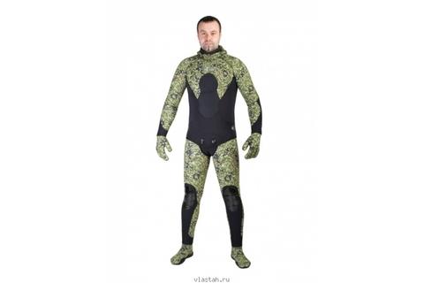 Гидрокостюм Scorpena C3 9 мм Green Camo