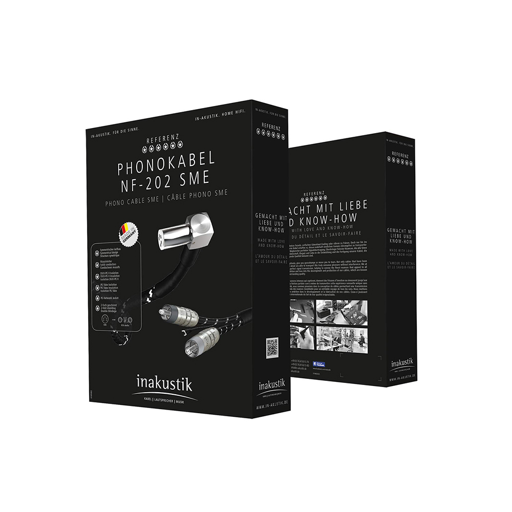 Inakustik Referenz Phono Cable NF-803, 1.5 m, SME - RCA, 0071840315