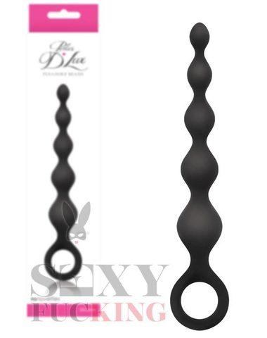 Анальная елочка Perles - D' Lux - Short (3,2 х 14 см)