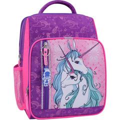 Рюкзак школьный Bagland Школьник 8 л. фиолетовый 596 (0012870)