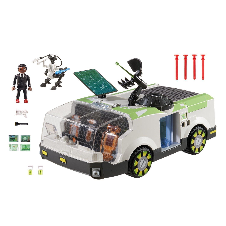 Конструктор Playmobil Супер4. Техно Хамелеон с Джином