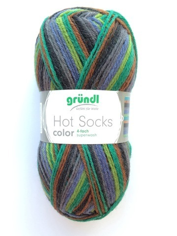 Gruendl Hot Socks Color 405
