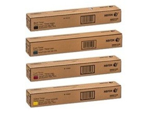 Комплект оригинальных картриджей для Xerox C60 / C70. 4 штуки CMYK