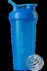 BlenderBottle Classic Шейкер классический с венчиком-пружинкой синий бирюзовый 828 мл