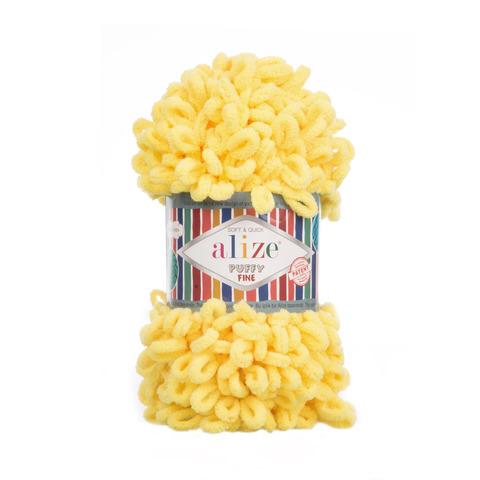 Купить Пряжа Ализе Пуффи Файн Код цвета 113 | Интернет-магазин пряжи «Пряха»