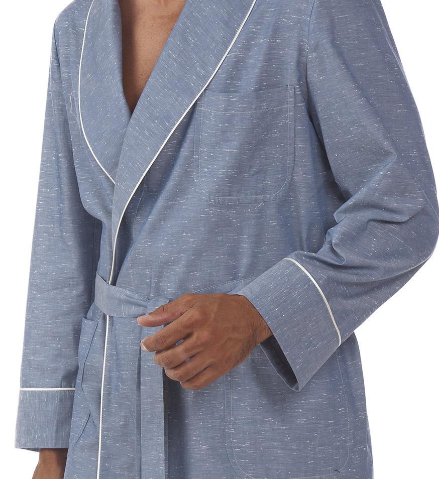 Хлопковый мужской халат B&B