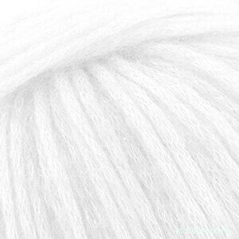 Пряжа Гламурная (Пехорка) 01 Белый, фото