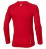 Мужская одежда для бега Asics LS Crew (114510 6015) красная фото