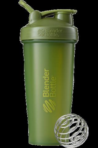 BlenderBottle Classic Шейкер классический с венчиком-пружинкой оливковый 828 мл