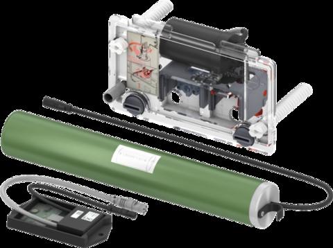Механизм дистанционной активации смыва унитаза для поручней, батарейка 6 В
