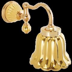Светильник настенный, плафон керамика Migliore Olivia ML.OLV-60.631.DO.DO Золото/золото